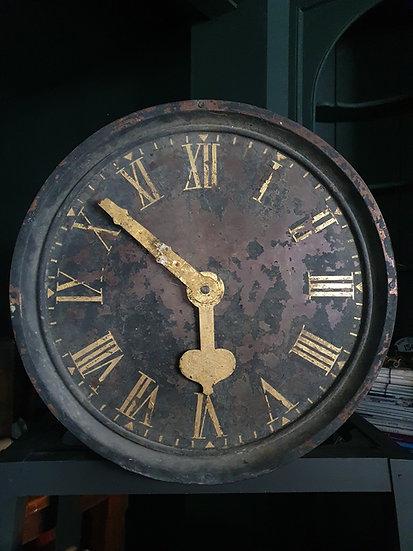 Georgian Convex Copper Turret Clock
