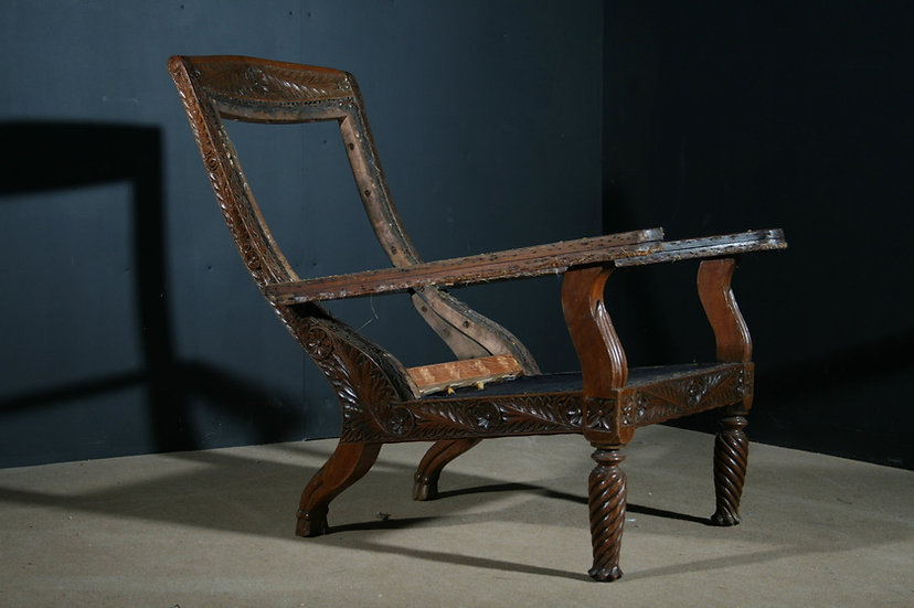 Colonial 19th century Planters Chair