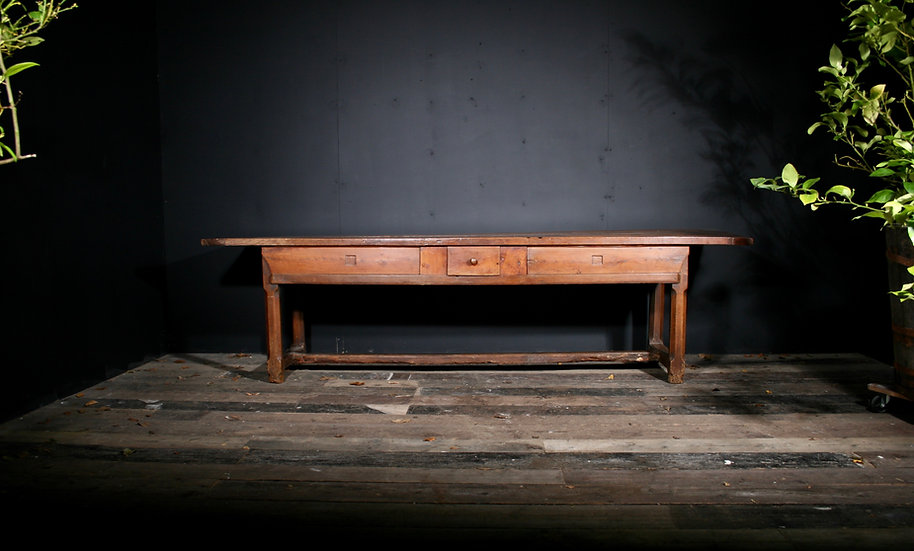 French Fruitwood Serving or Prep Table SOLD