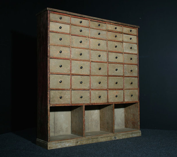 Pine Bank of Drawers SOLD