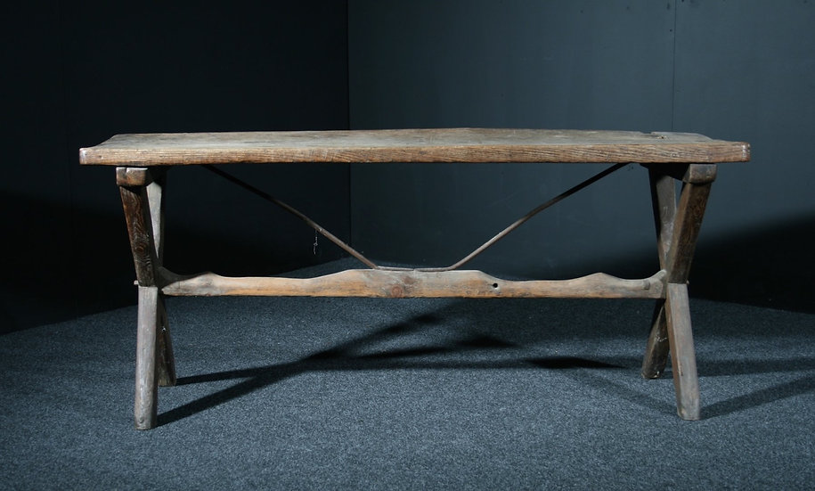 18th Century Elm Tavern Table SOLD