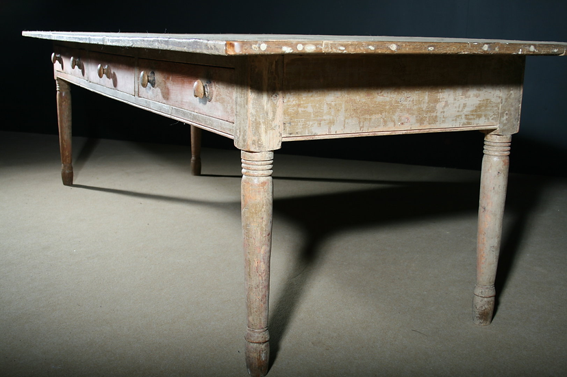 Original Painted Pine Farmhouse Table SOLD