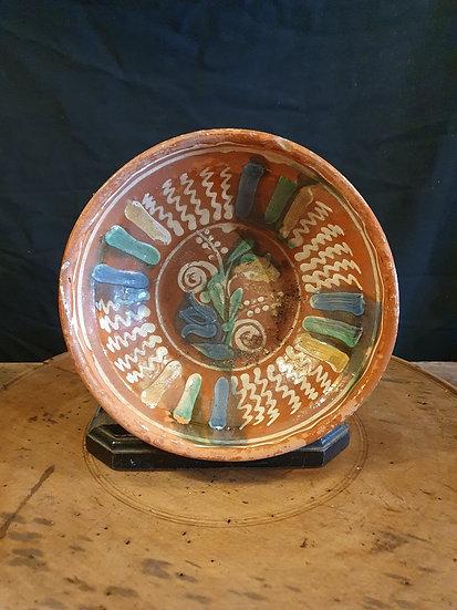 Antique Slipware Bowl