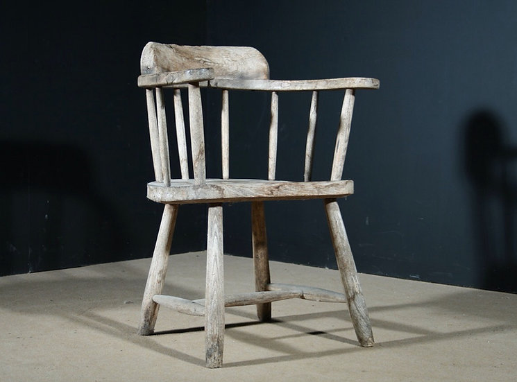 Primitive Stick Back Chair SOLD