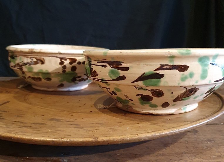 Pair of Slipware Bowls