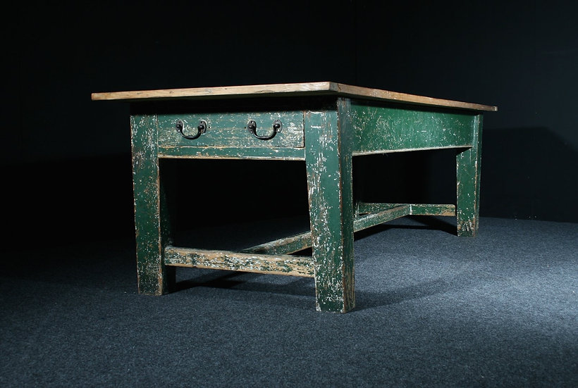 Georgian Prep Table in Original Paint SOLD