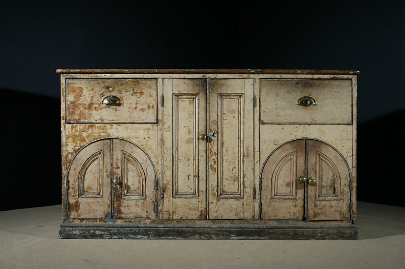 Georgian Gothic Dresser Base SOLD