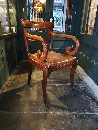 Regency Desk chair SOLD