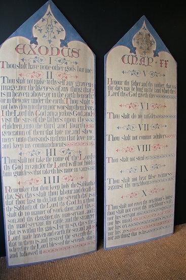 Ten Commandments SOLD