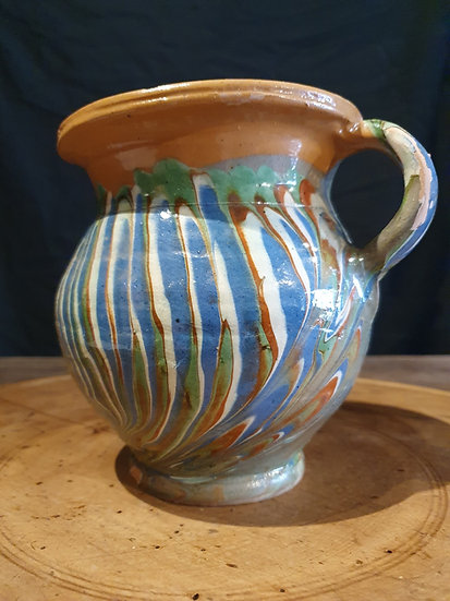 Small Marble Decorated Jug