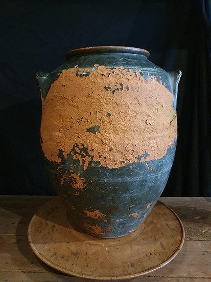 Large Green Confit Pot SOLD