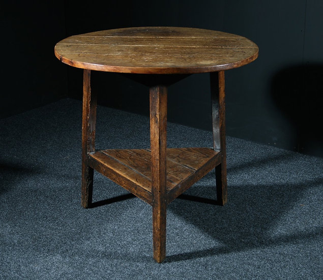 Elm & Pine Cricket Table SOLD