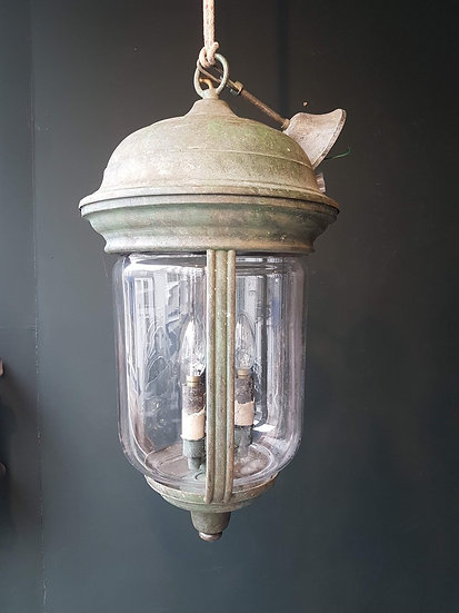 Large Copper Lantern SOLD
