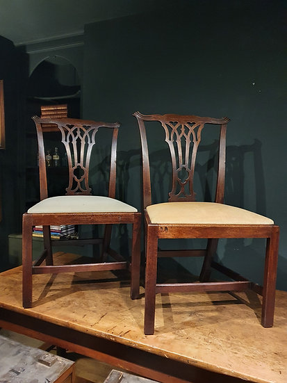 Georgian Walnut Chairs SOLD
