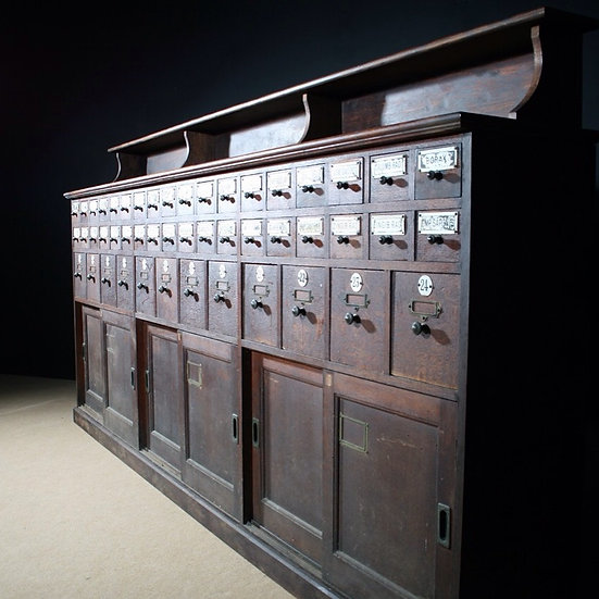 Large Apothecary Counter SOLD