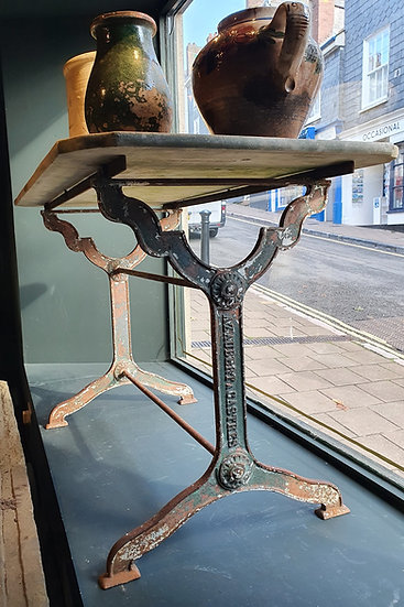 Marble Topped Garden Table SOLD