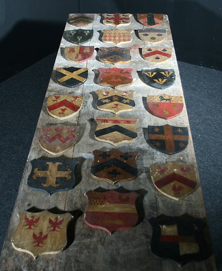 Set of Armorial Shields SOLD