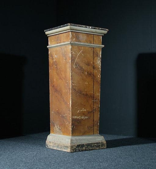 Scagliola Plinth SOLD