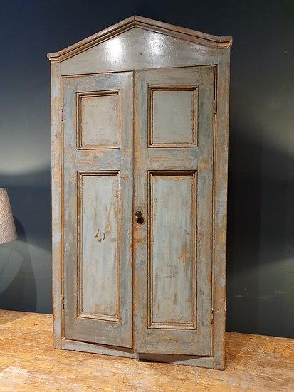 Painted Pine Cupboard in Original Paint SOLD