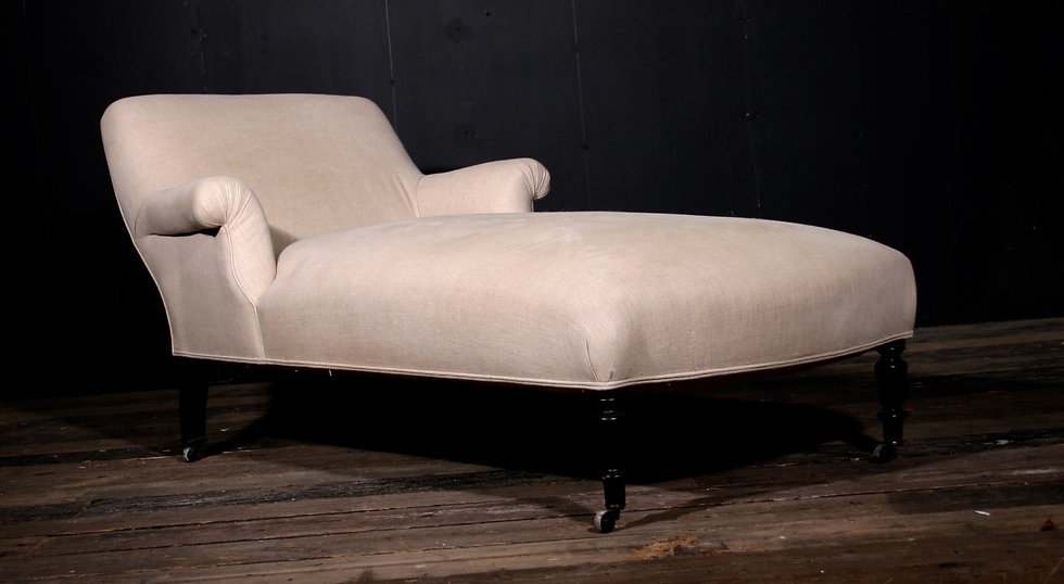 French Linen Daybed SOLD