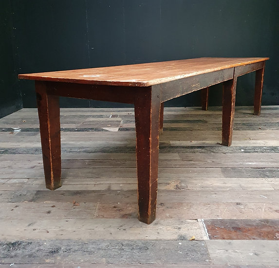 Large Pine Farmhouse Table SOLD