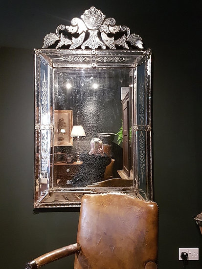 Large Venetian Mirror SOLD