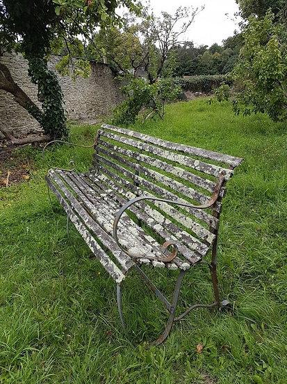 Victorian Garden Bench SOLD