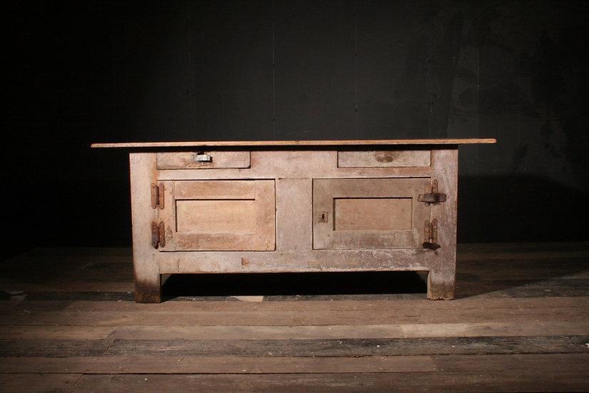 Pine Dresser Base in Original Paint SOLD