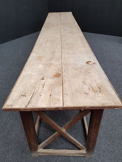 Massive Harvest Table SOLD