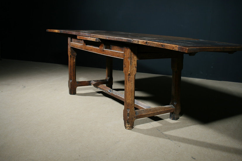Early Walnut Drawleaf Table SOLD
