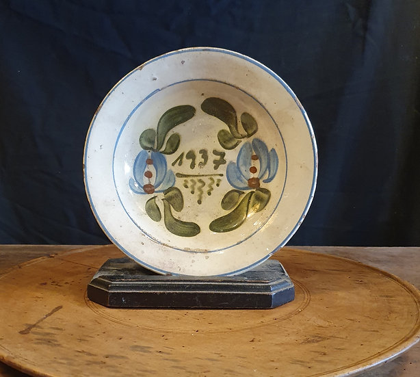 Decorative Painted Bowl