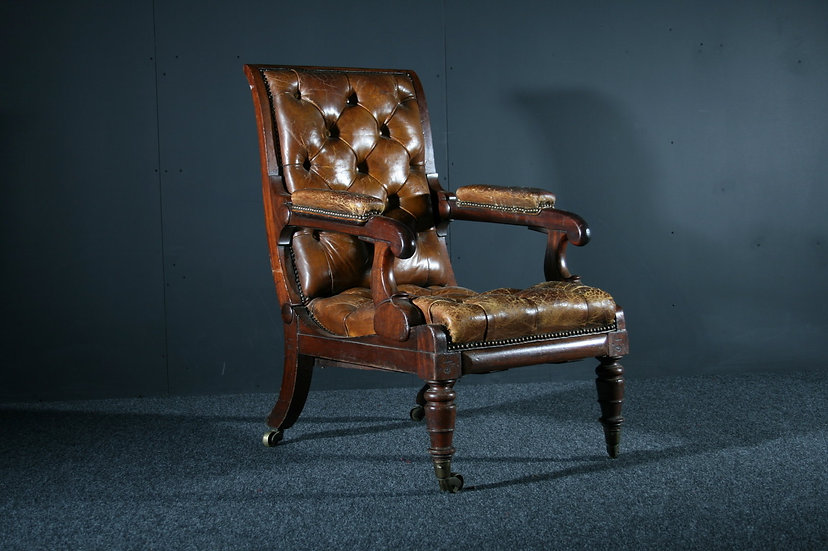 Georgian Reclining Chair SOLD