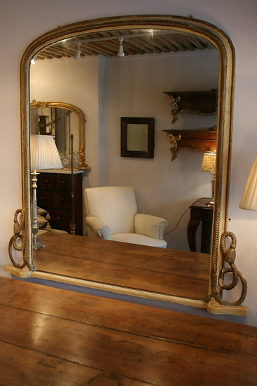 Rope Twist Giltwood Mirror SOLD