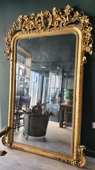 Large Giltwood Mirror SOLD