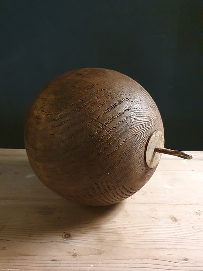 Large Wooden Ball SOLD