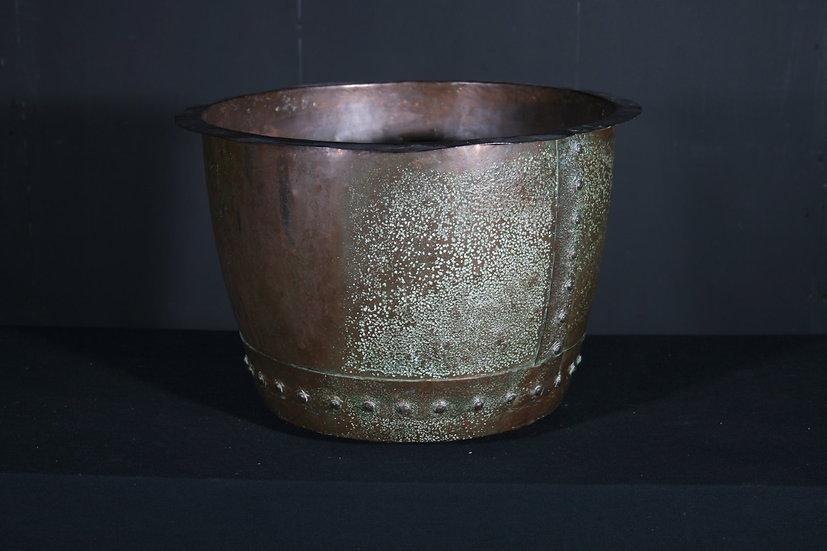 Large Copper Planter SOLD