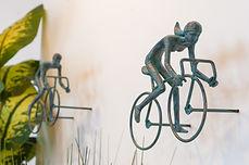 2 piece 3D Sculpture Bicycle Wall Art Gi