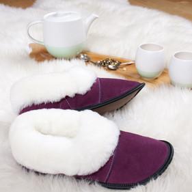 Lazybone sheepskin slippers