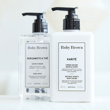 Hand Soap And Cream Duo