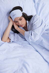 Long Sleep Shirt Blue Oxford Stripe_1c.j