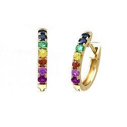 Rainbow Huggie Earrings_3.jpg