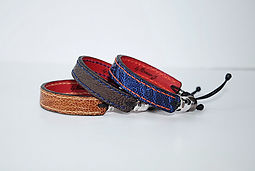 Stitches ostrich leather bracelet_6b.JPG