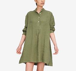 Short Sleep Shirt Sage Linen_3ac.jpg