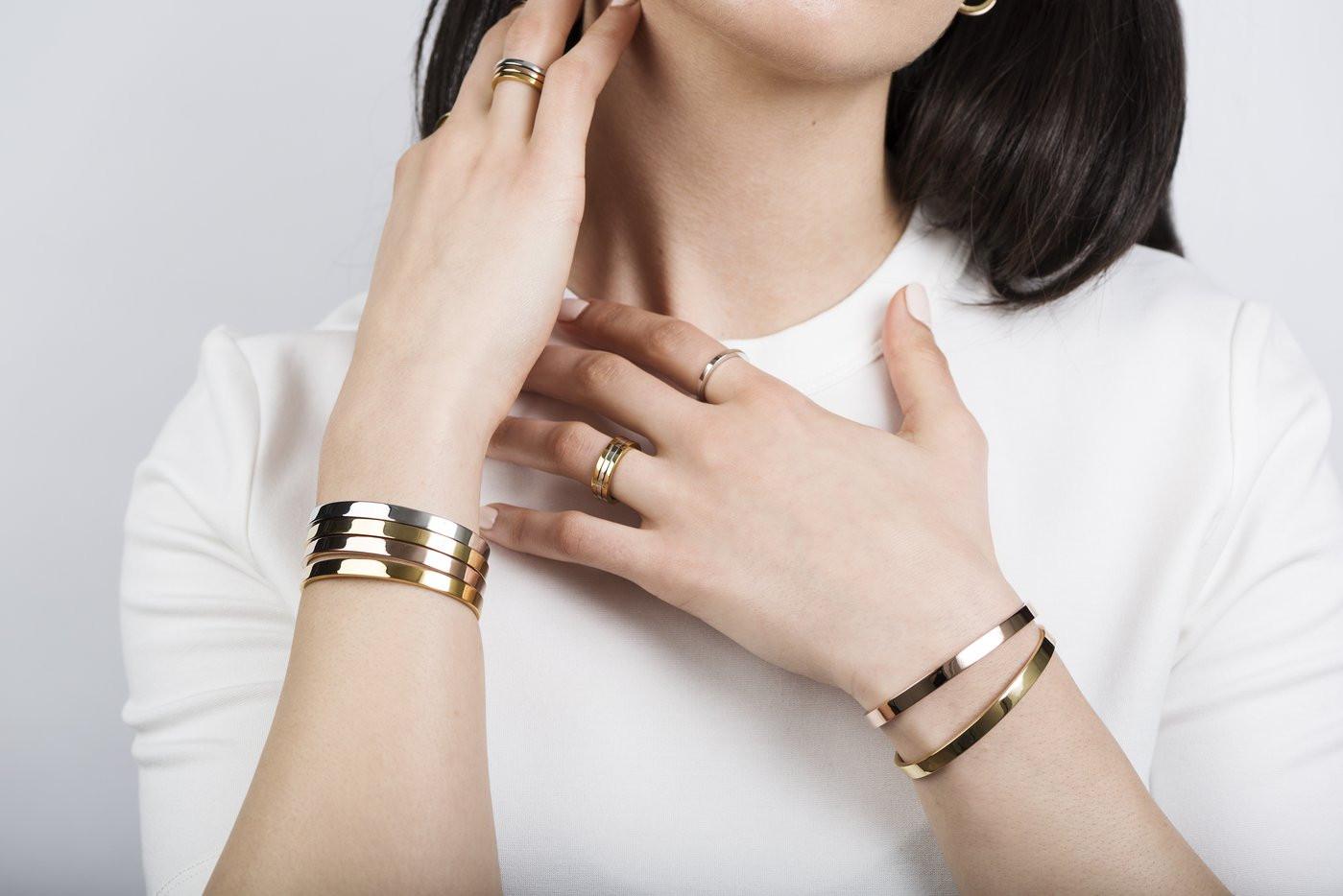 Meghan yellow gold bracelet