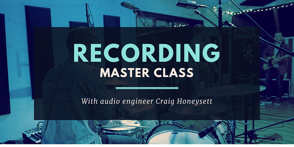 Recording Materclass
