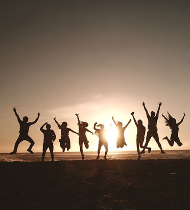 silhouette-photography-of-group-of-peopl