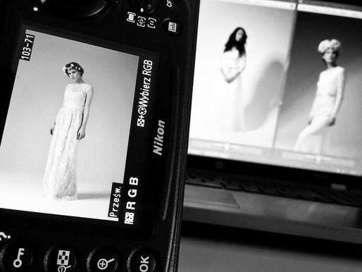 Zdjęcia sukien ślubnych Justyny Kodym