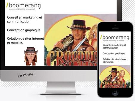 Besoin d'une communication digitale ? Et si vous tentiez boomerang afin d'atteindre votre cible ...
