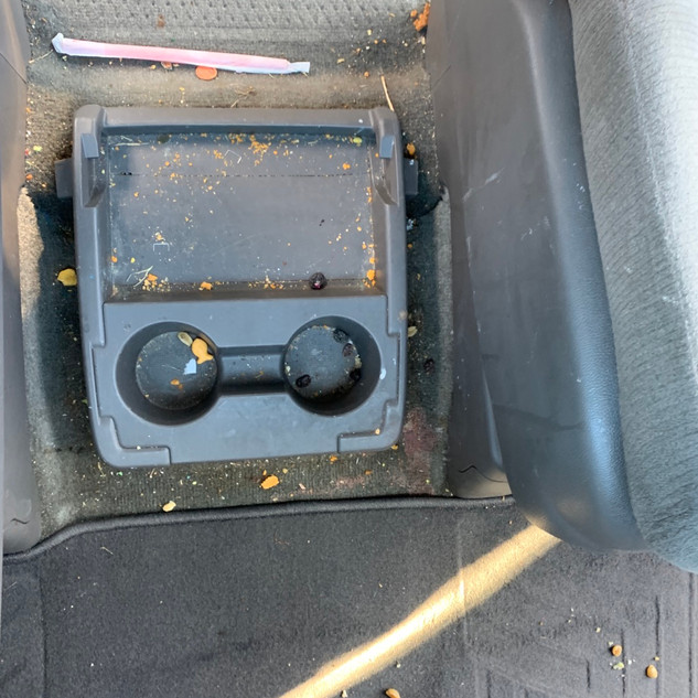 Before Deep Interior Cleaning