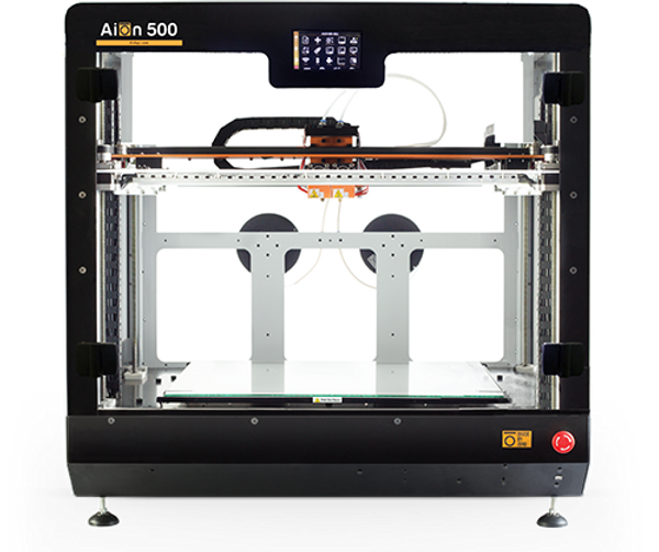 aion 500 mk2 patented 3d printer